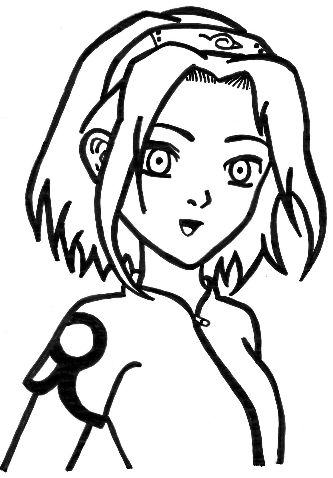 Desenhos Para Carimbos  Turma Do Naruto