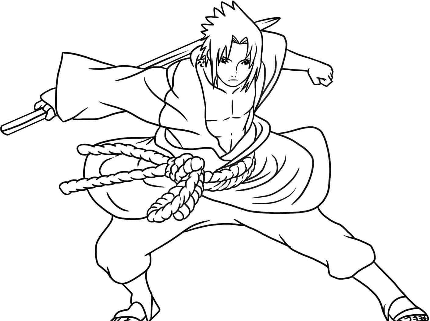 Desenhos De Naruto Para Pintar