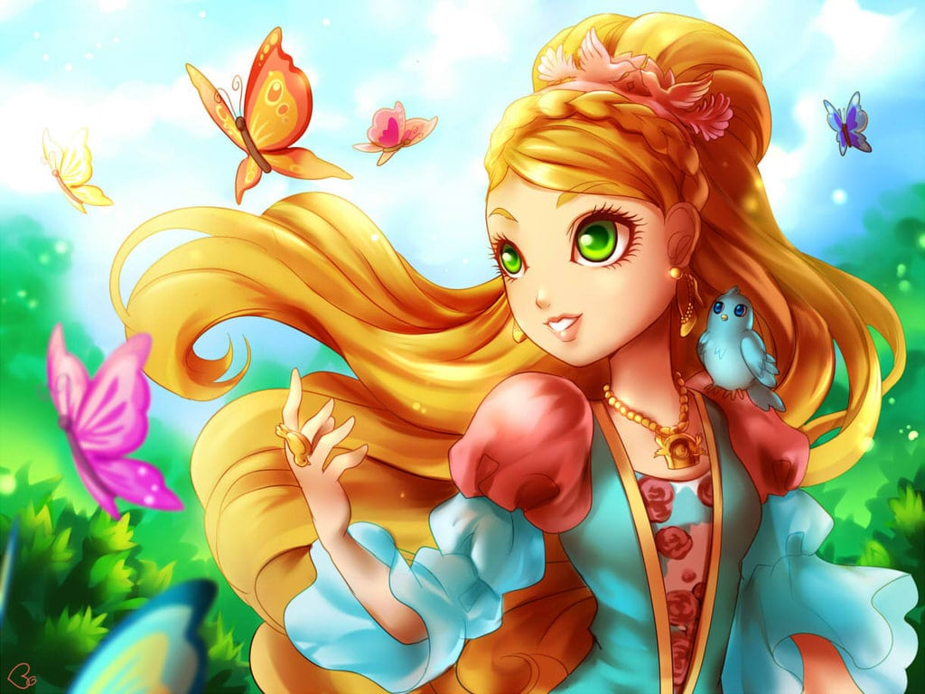Wallpaper Ever After High