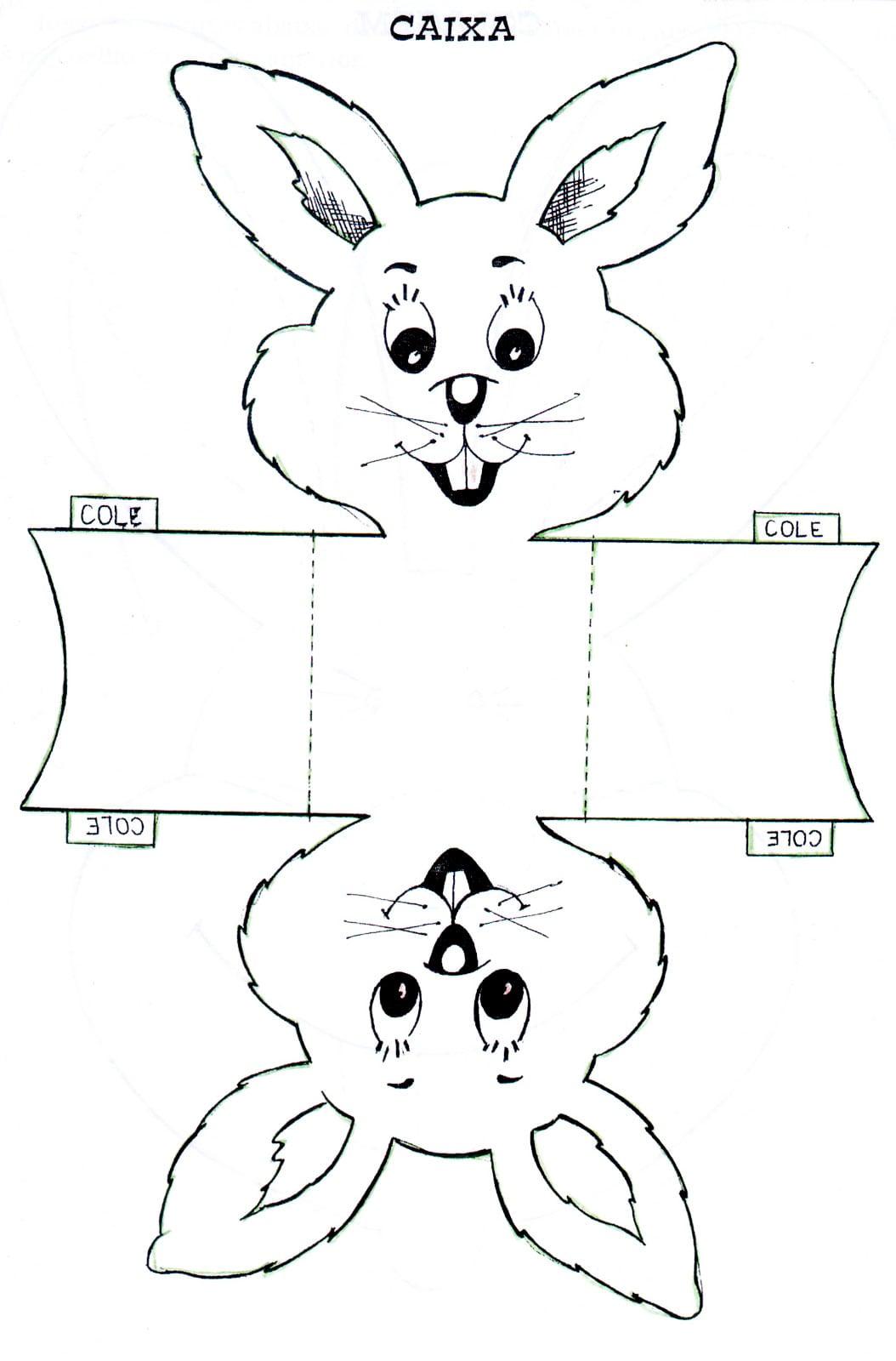 Desenhos De Coelhos Para Imprimir