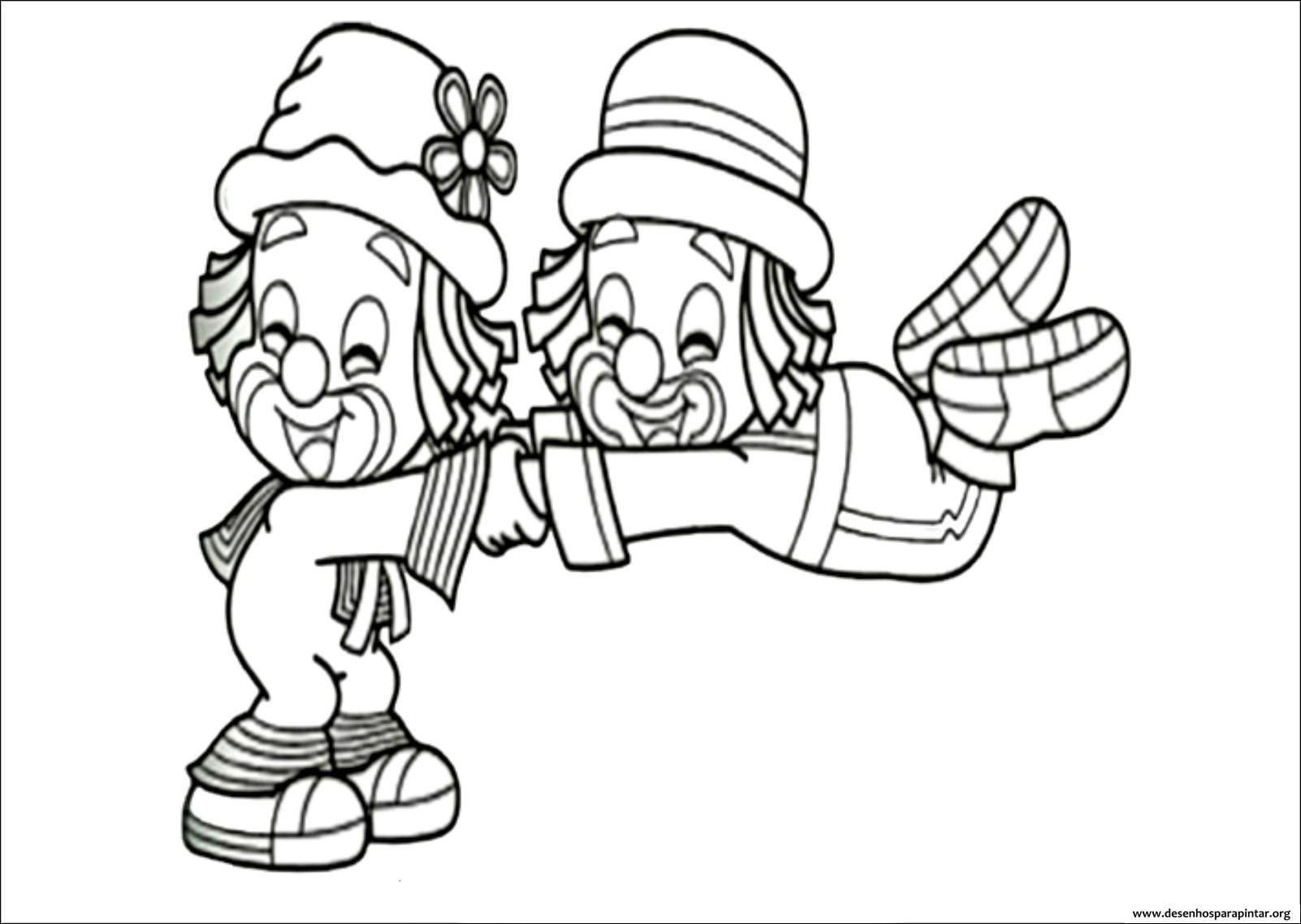 Galinha Pintadinha Para Colorir E Imprimir: Desenhos Do Patati Patata Para Imprimir