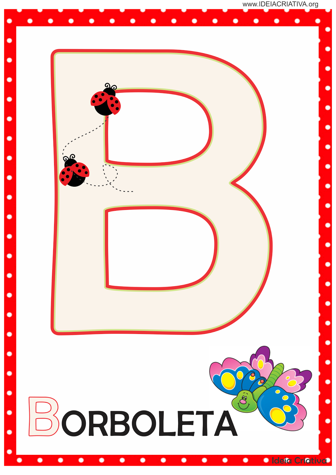 Alfabeto Infantil Ilustrado Para Imprimir -> Desenhos Para Alfabeto Ilustrado