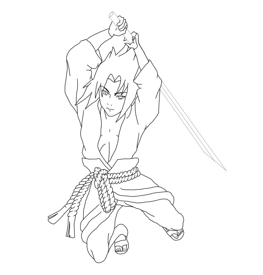 Desenhos Do Sasuke