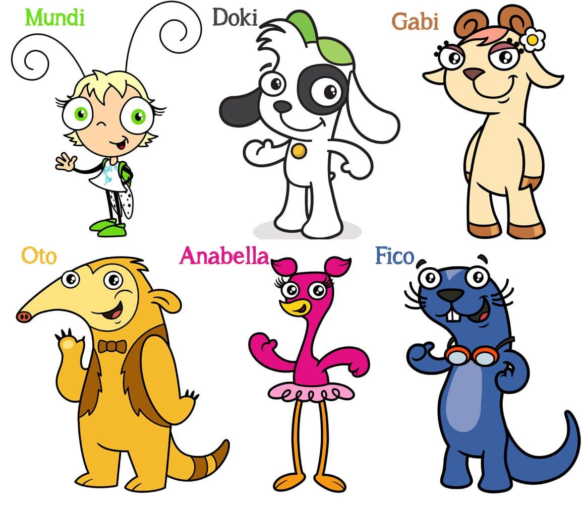 Doki Y Todos Sus Amigos  Doki And Friends