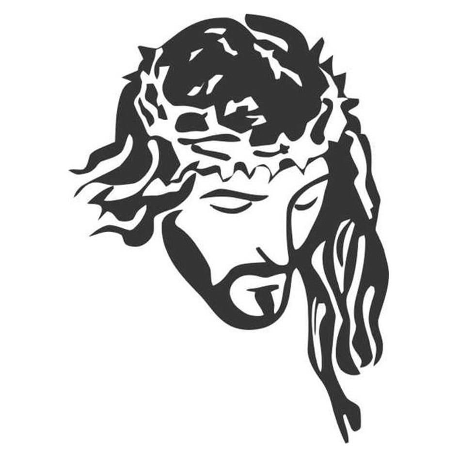 Adesivo De Unha Jesus Cristo Rel05