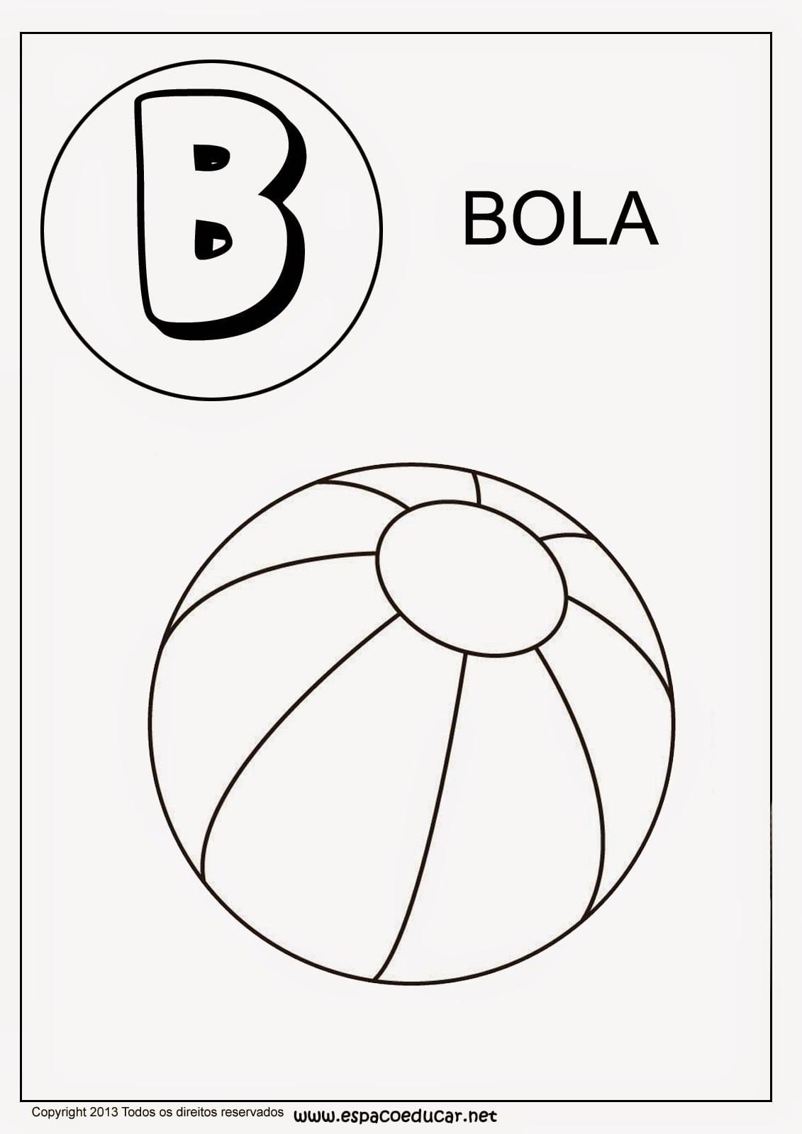 EspaÇo Educar  Alfabeto De Colorir