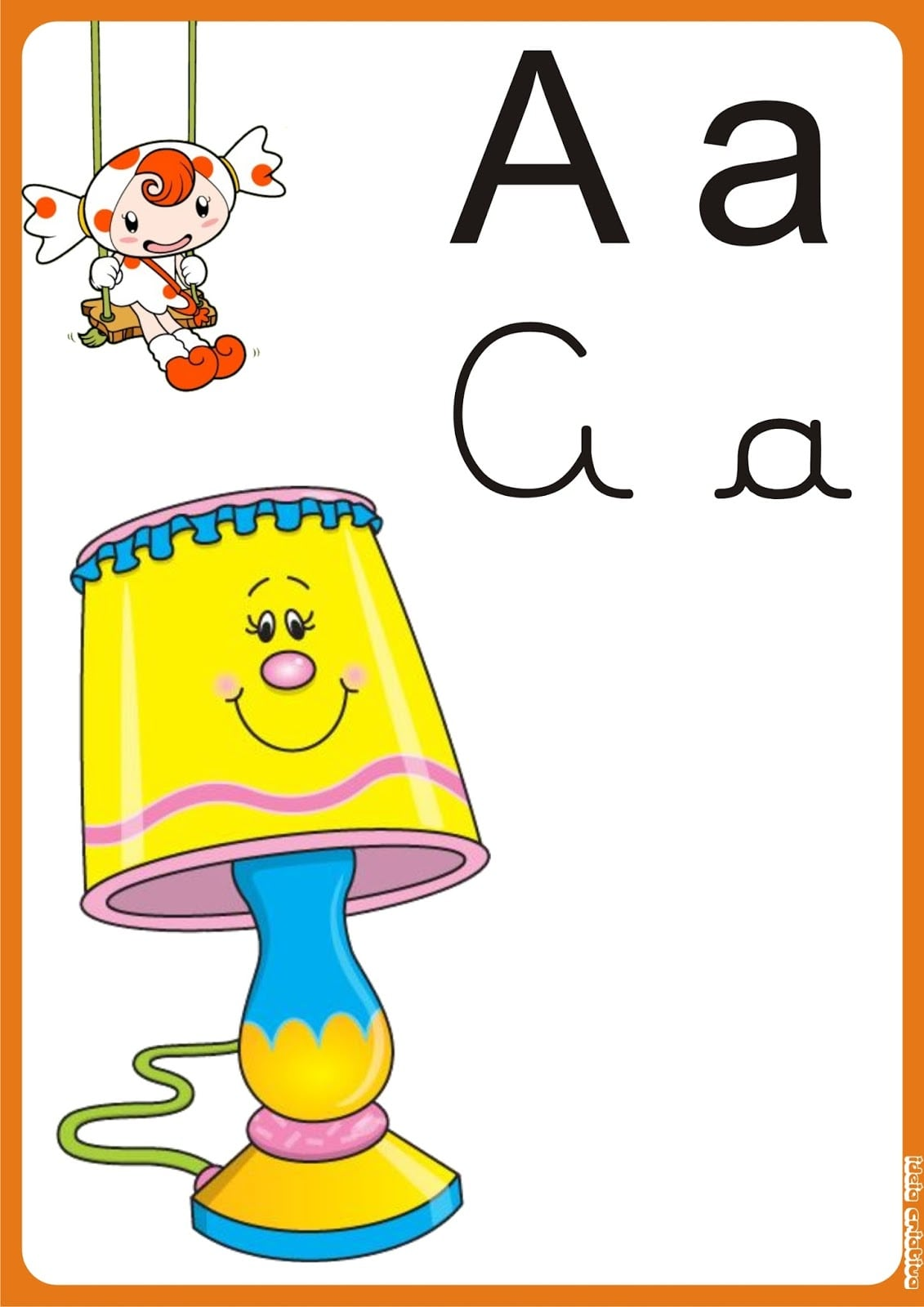 Alfabeto De Parede Para Imprimir Grátis
