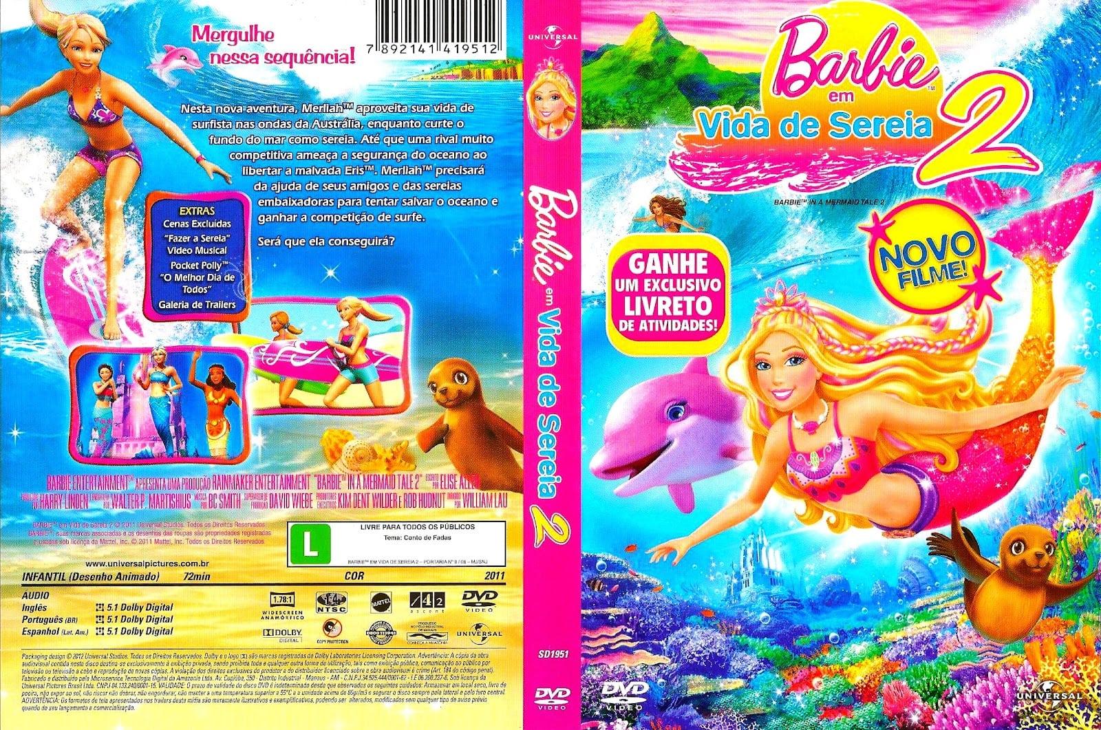 Desenho Da Barbie Vida De Sereia 2