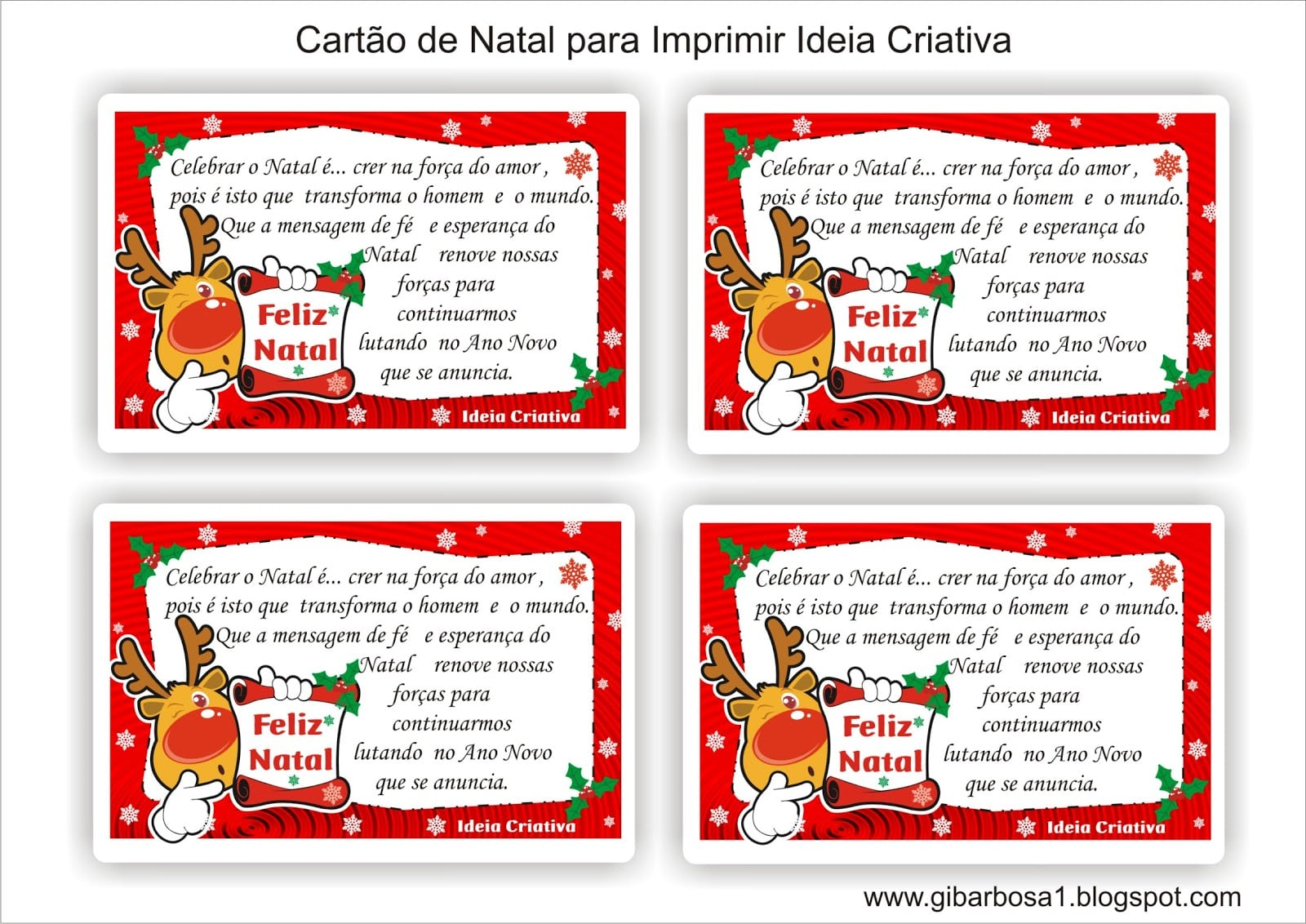 Cartoes De Natal Para Imprimir Gratis Car Pictures