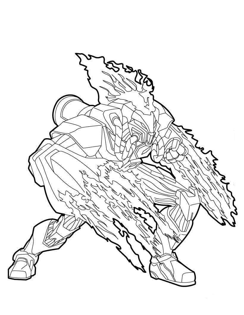 Jogo Max Steel Para Colorir No Jogos Online Wx