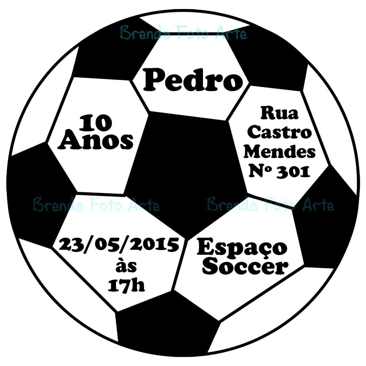 Bola De Futebol Para Imprimir