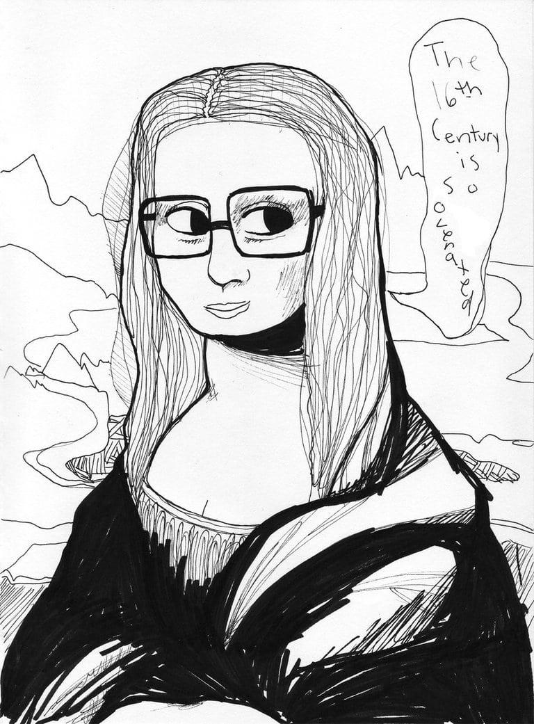 Mona Lisa Underground By ~xxboogiepopxx On Deviantart