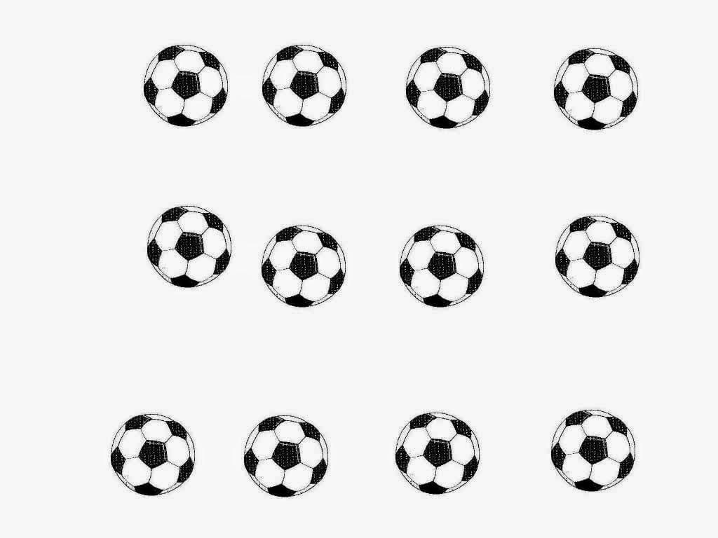 Bolas De Futebol Para Colorir