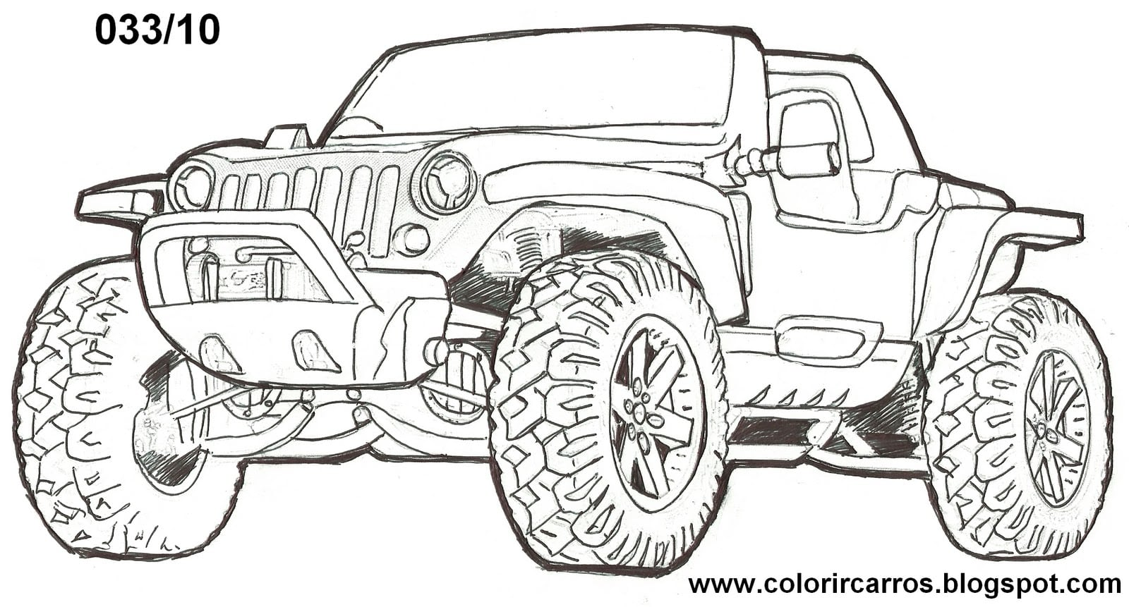 Famosos Desenho De Carros Para Colorir E Imprimir BX89