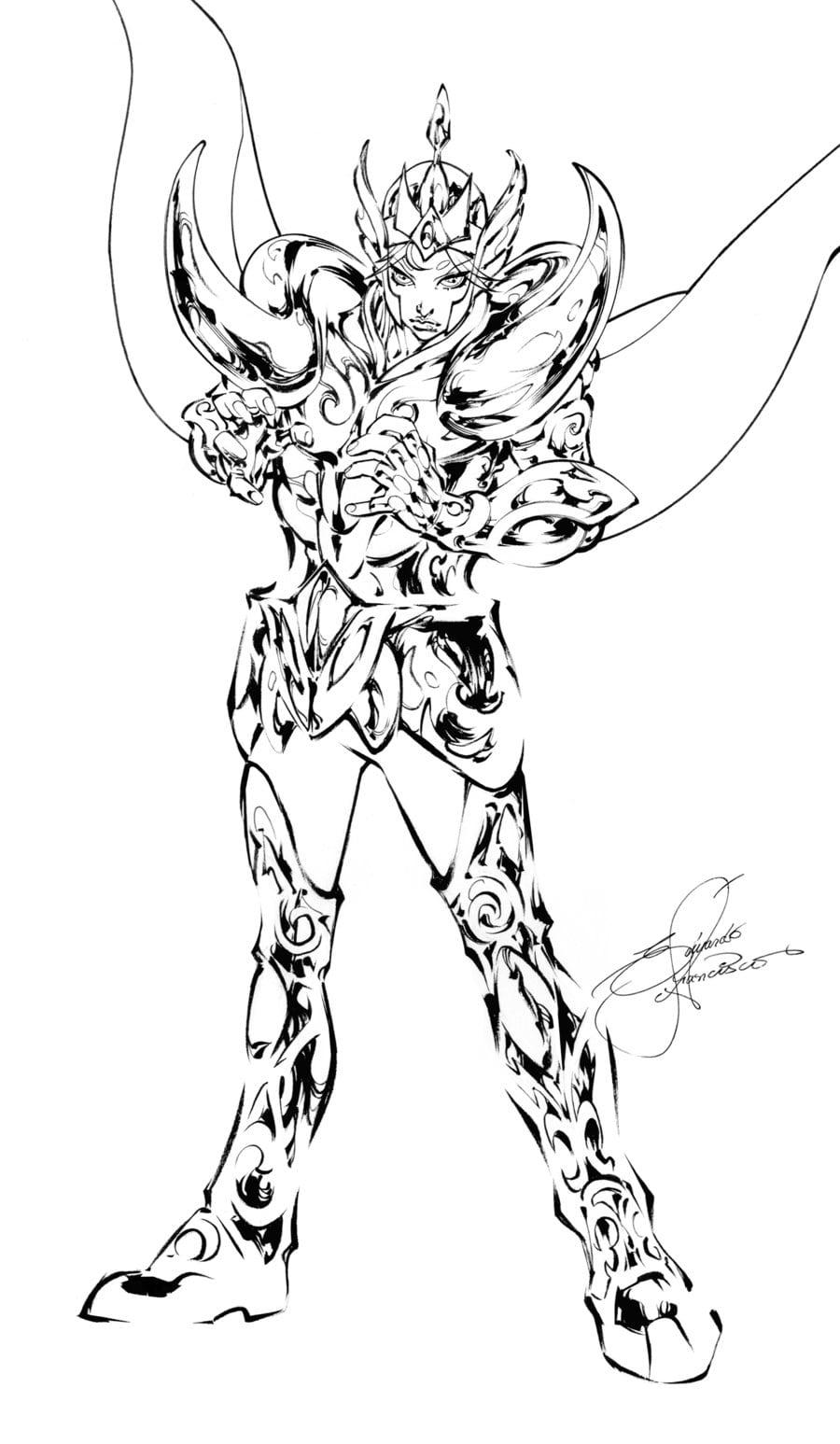 Desenhos Os Cavaleiros Do Zodiaco