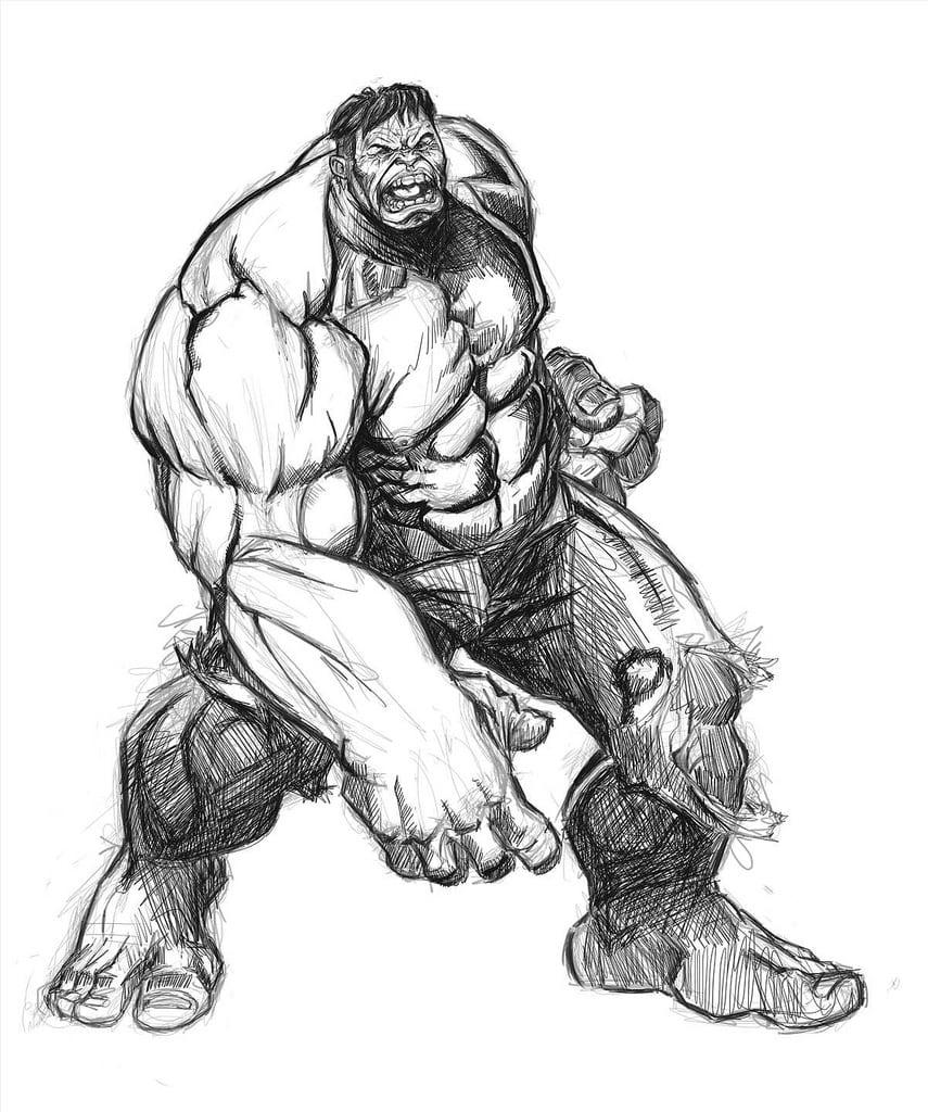 Colorir Hulk
