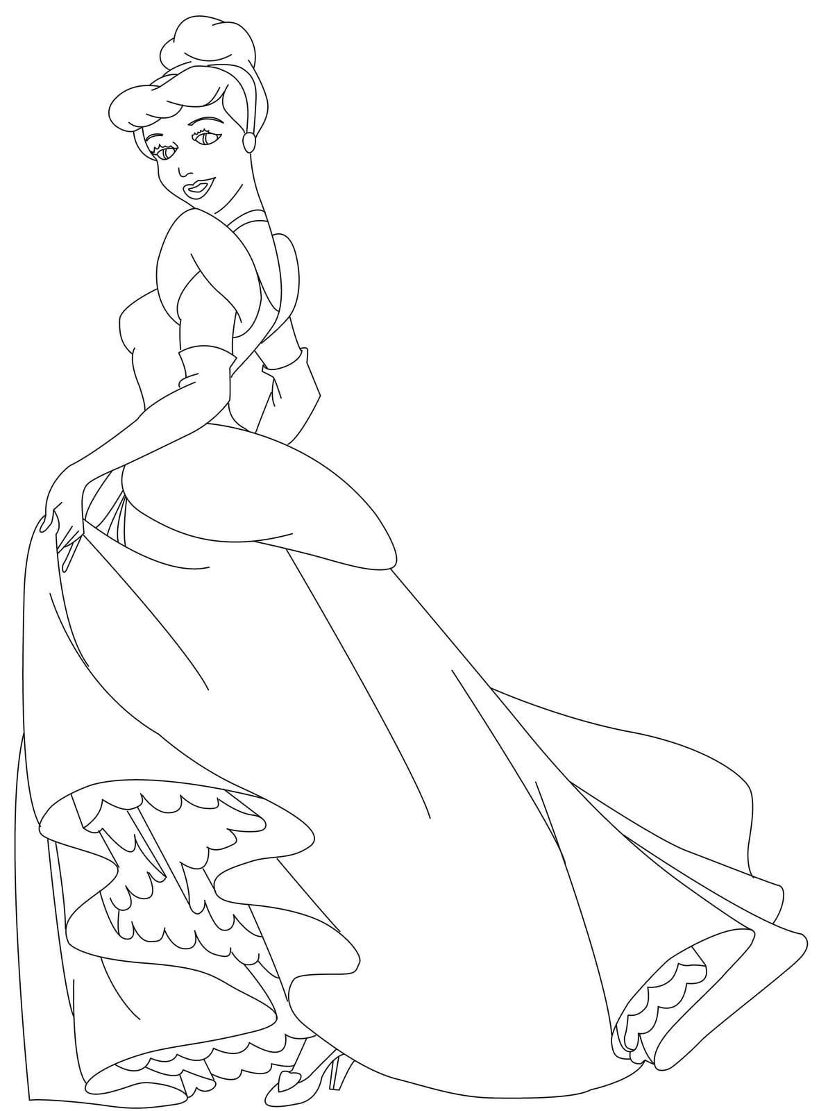 Desenhos Para Colorir As Princesas