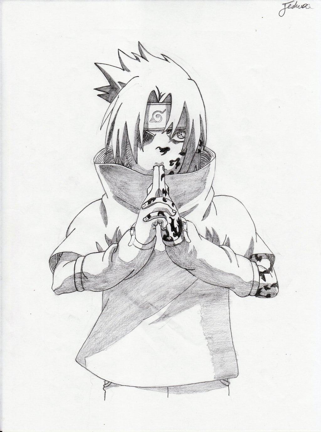 Sasuke Chidori Drawings