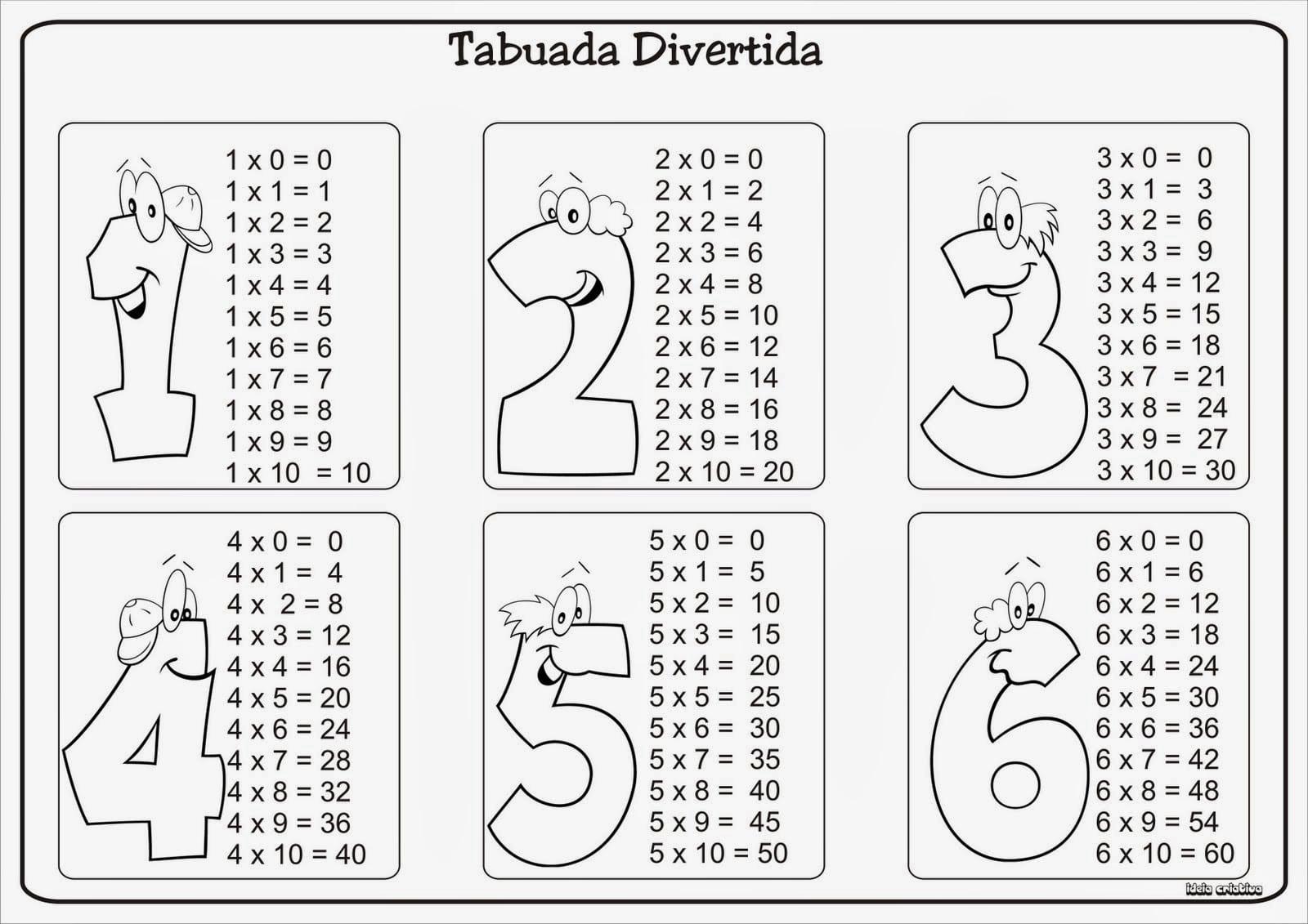 Imprimir Tabuada