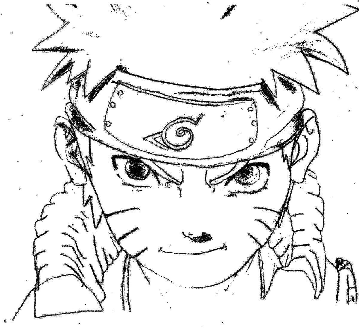 Naruto Para Colorir