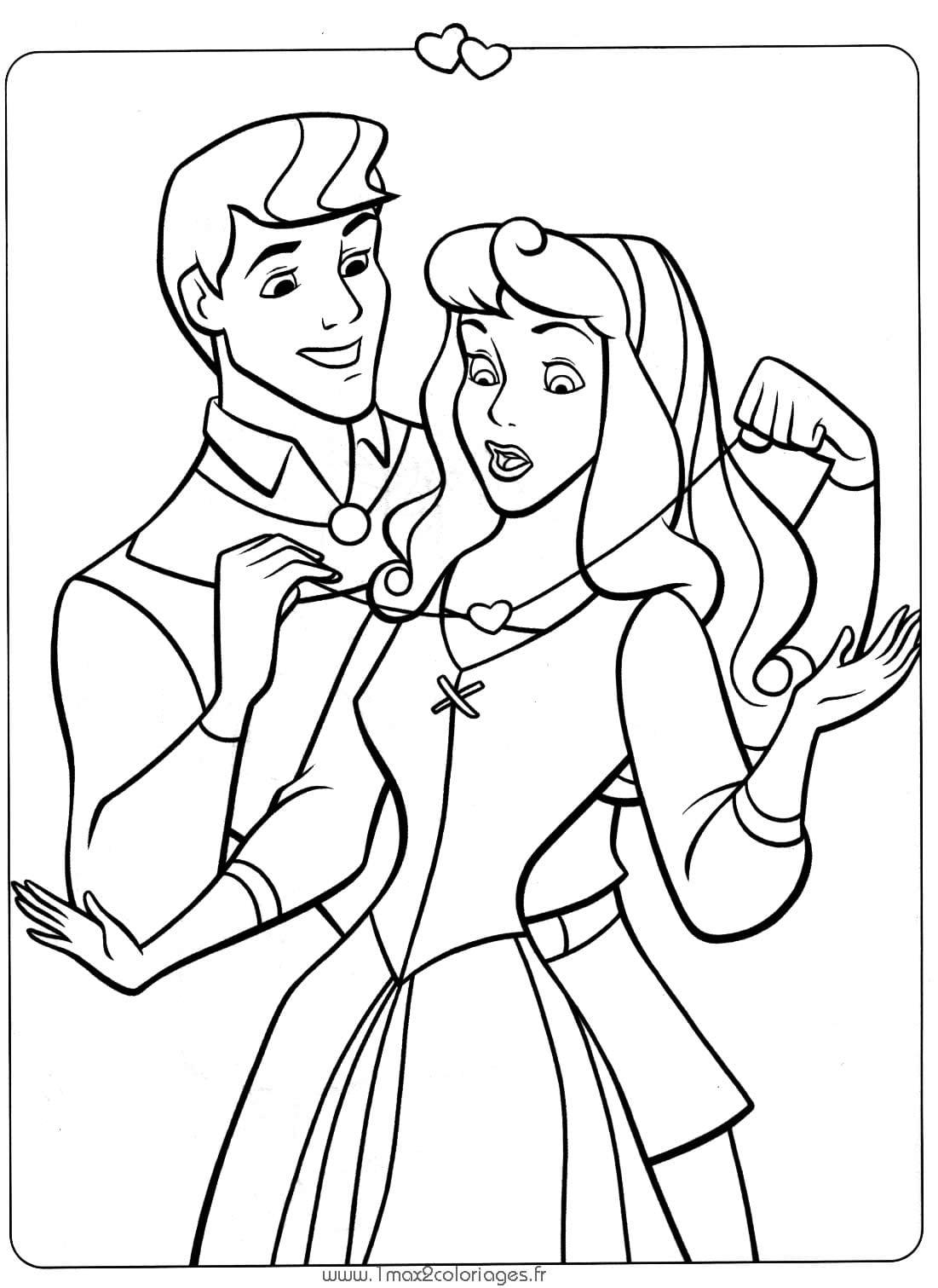 Desenho Para Pintar Princesas