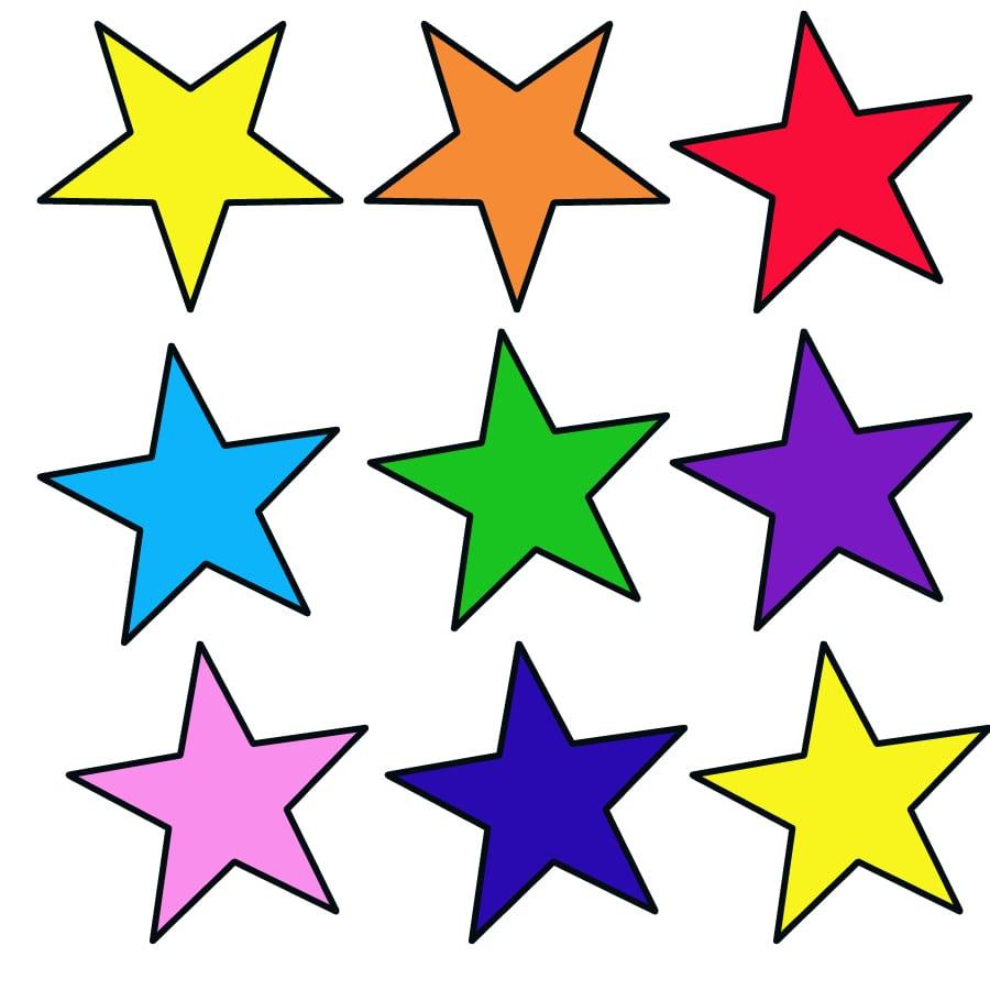 Desenhos De Estrelas Para Imprimir