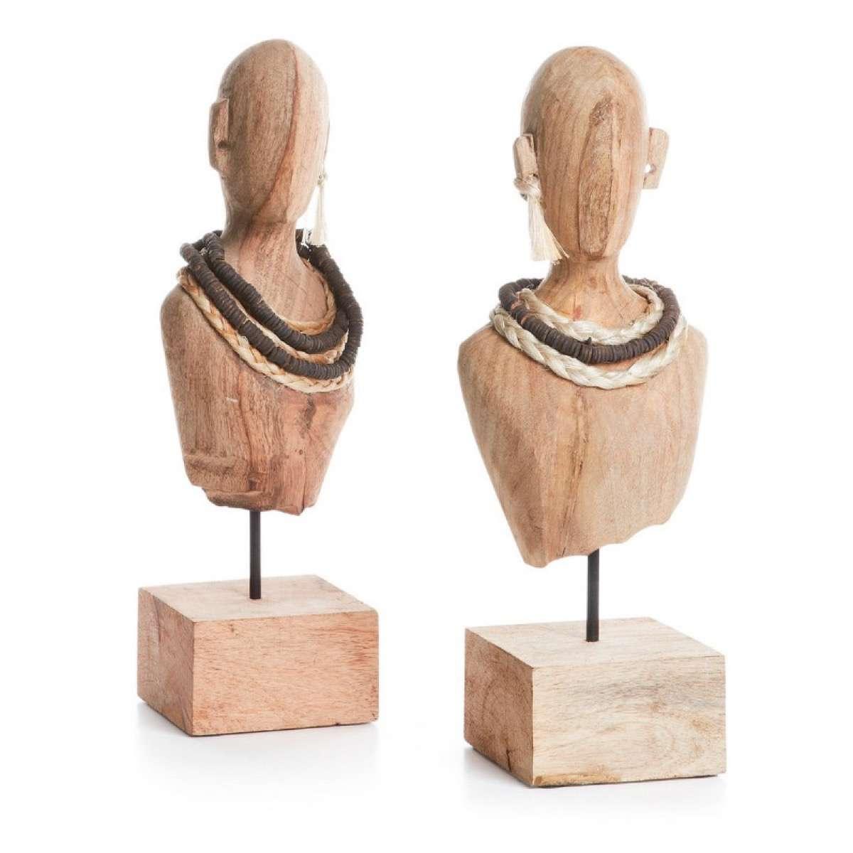 Figuras De Madera Africanas ¡decora Con Estilo étnico!