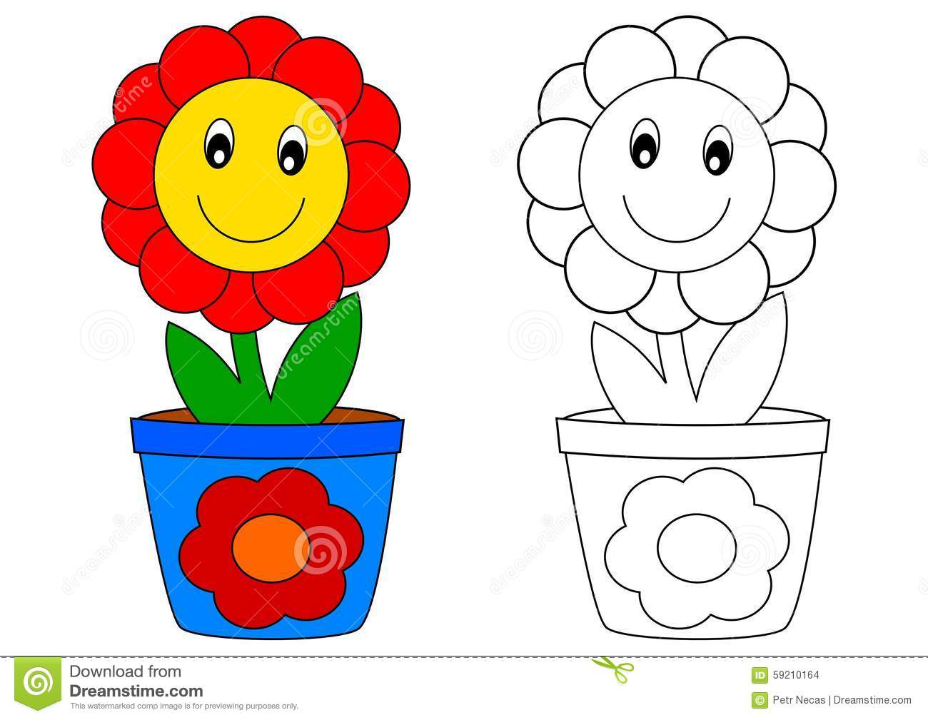 Flor Vermelha No Potenciômetro Azul