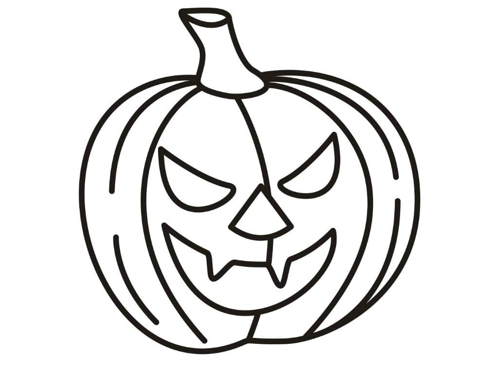 Desenhos Para Colorir E Imprimir  Desenhos Do Halloween Para