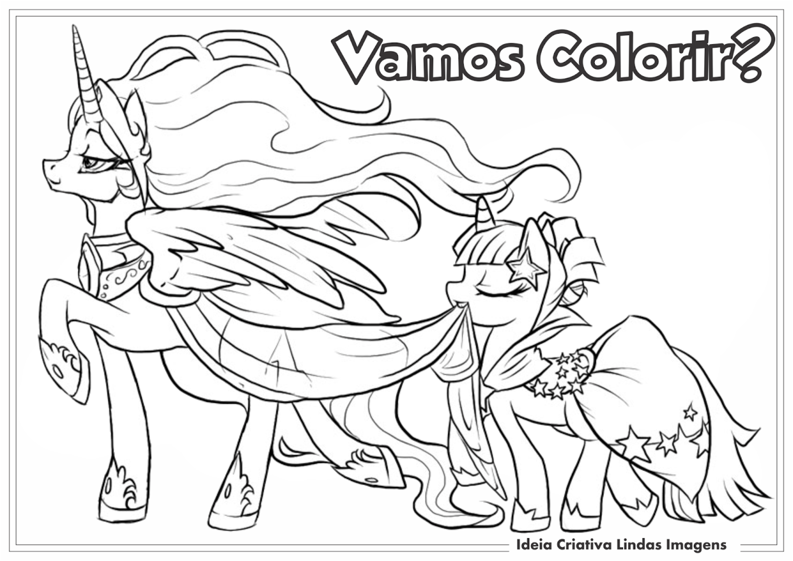 Desenhos De Pony