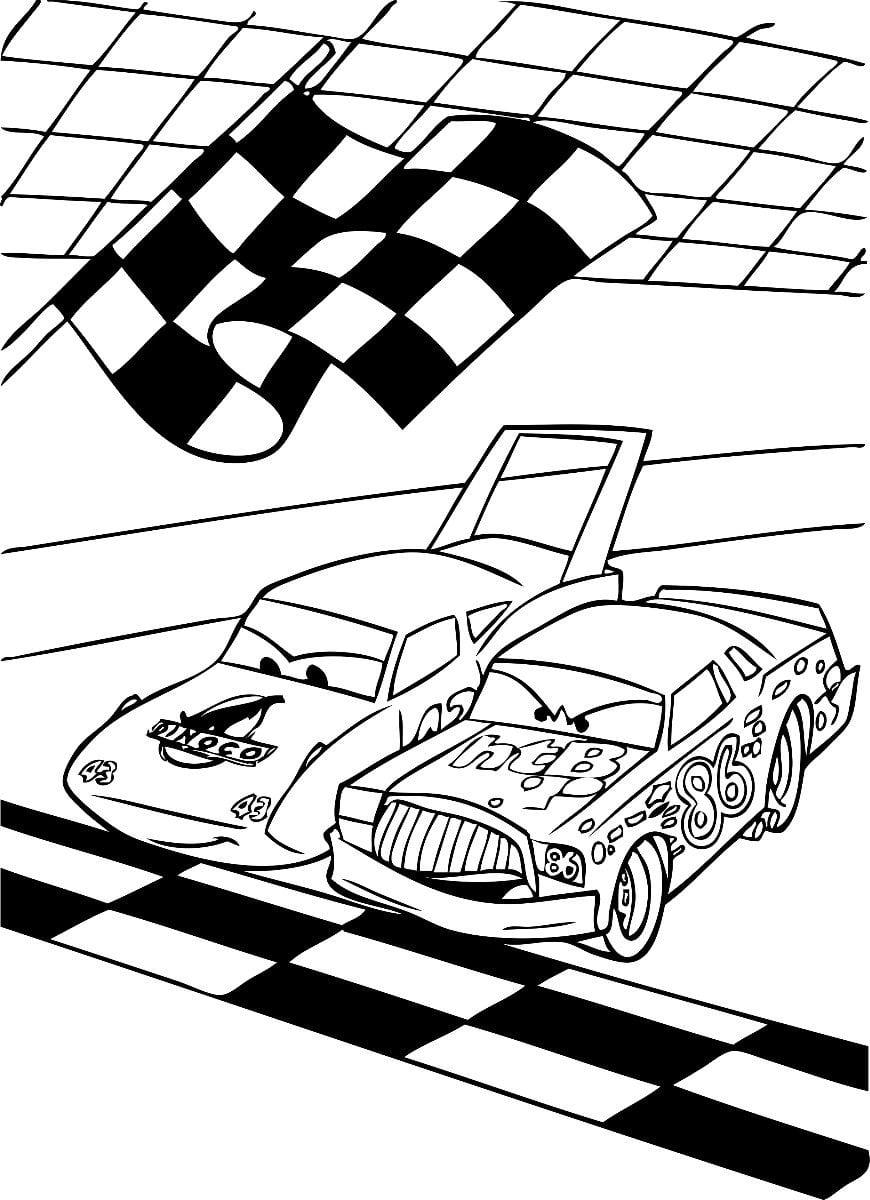 Imagens Cars Disney Para Colorir