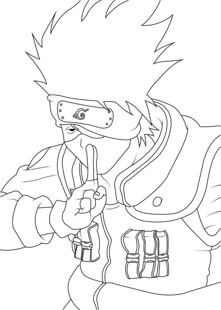 Galeria De Fotos E Imagens  Desenhos De Naruto Para Pintar