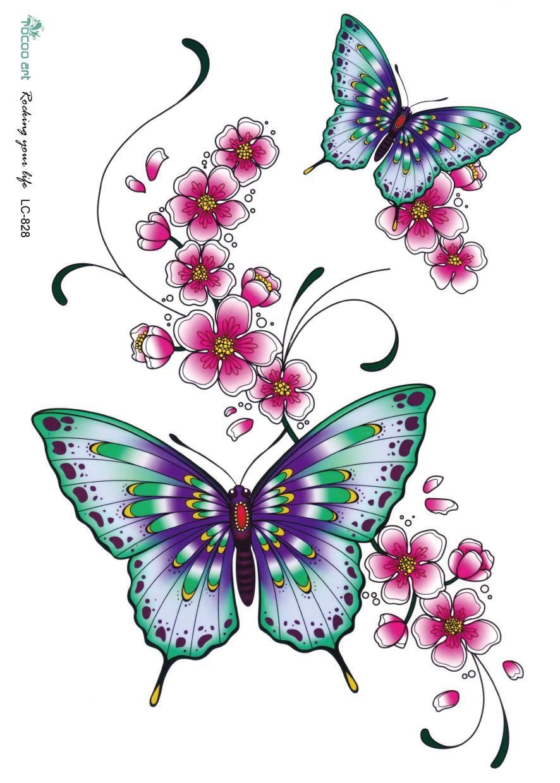 High Quality Tatuagem Desenhos De Borboleta