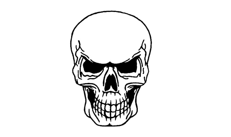 Como Desenhar Uma Caveira (crânio, Esqueleto)