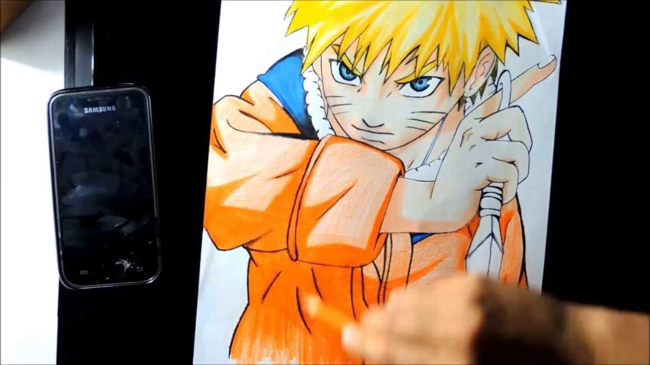 Desenho Uzumaki Naruto