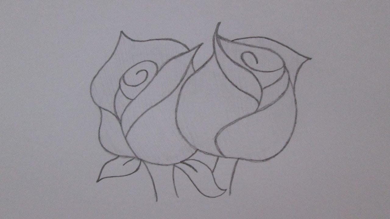 Desenhos De Flores Para Copiar