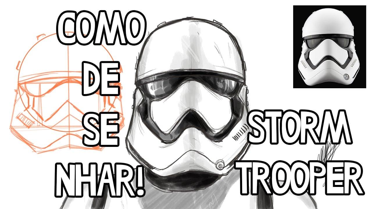 como desenhar um stormtrooper coloring city