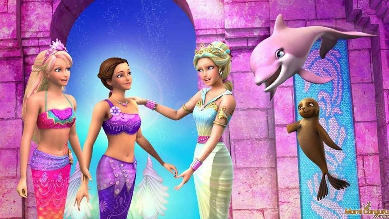 Barbie Sereia & Barbie Escola De Princesas
