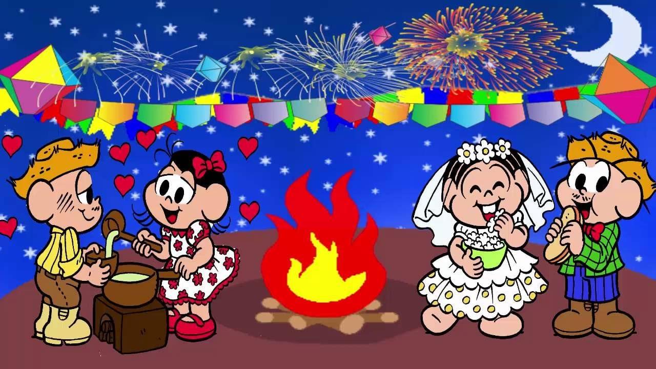 Desenhos Turma Da Mônica Completo 2016 Quadrilha Festa Junina