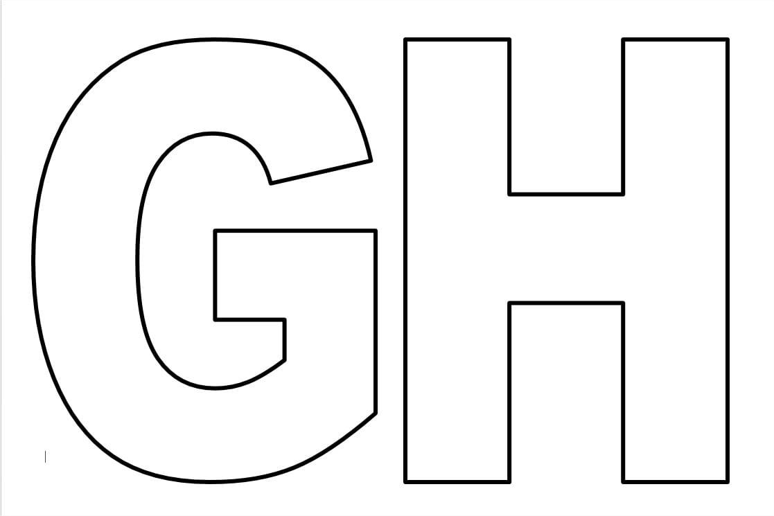 Moldes De Letras Para Imprimir Do Alfabeto