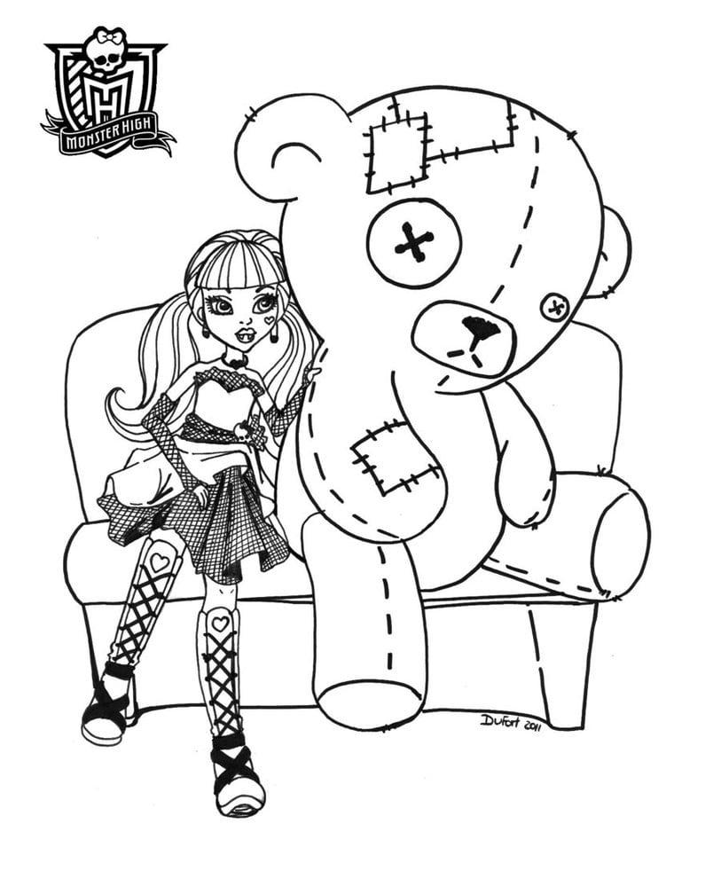 Da Monster High De Pintar Elas