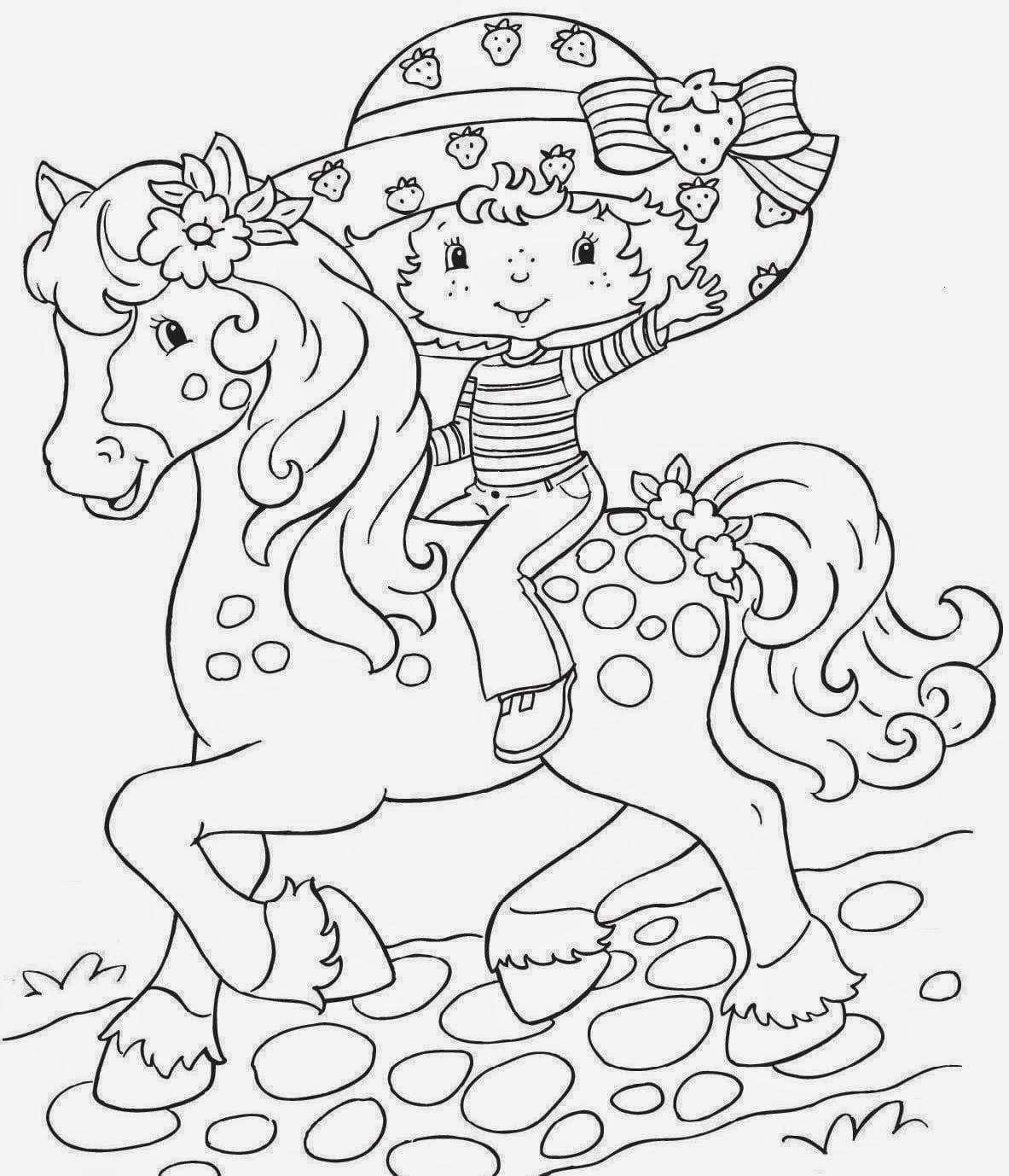 Desenhos De Moranguinho E Sua Turma Para Colorir, Pintar, Imprimir