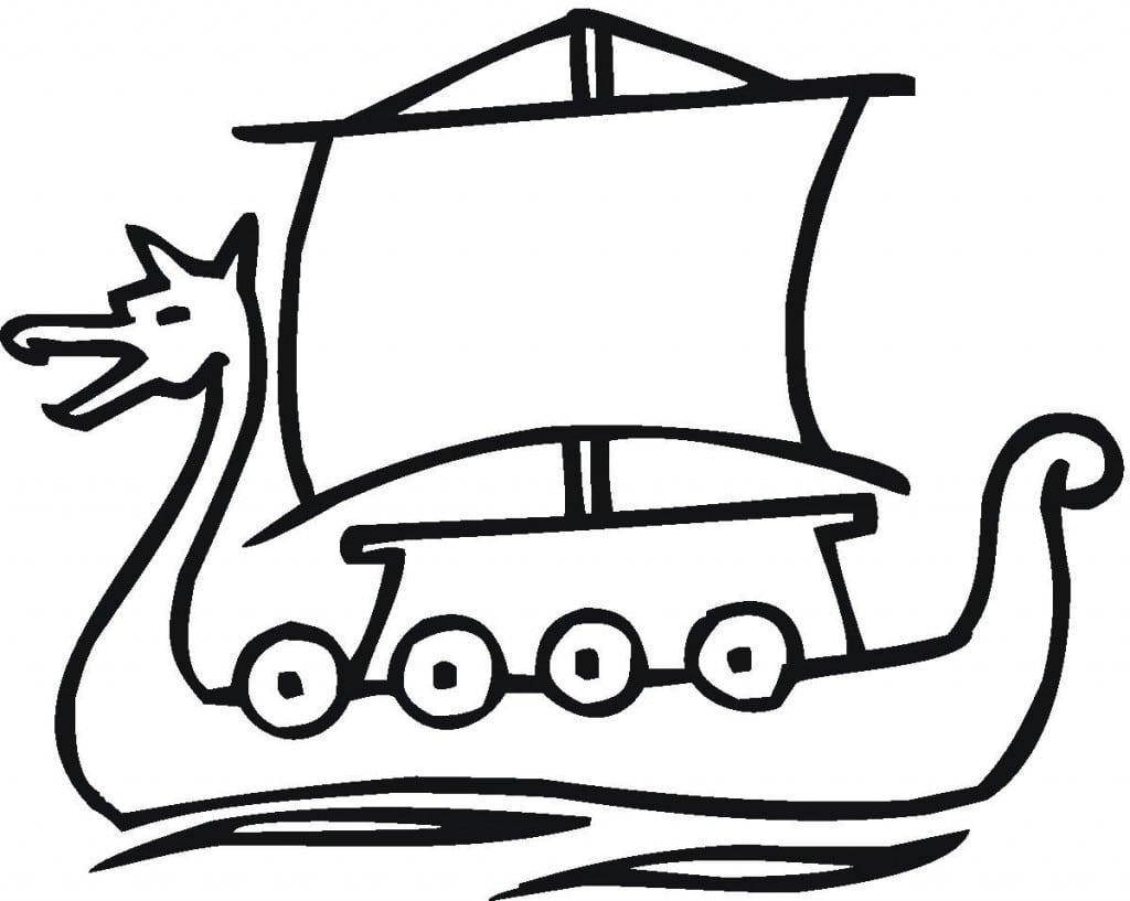 Desenhos De Navios E Barcos Para Colorir  Tudo Para Imprimir E Pintar
