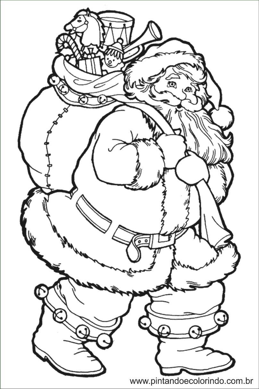 Desenhos Natalinos Papai Noel