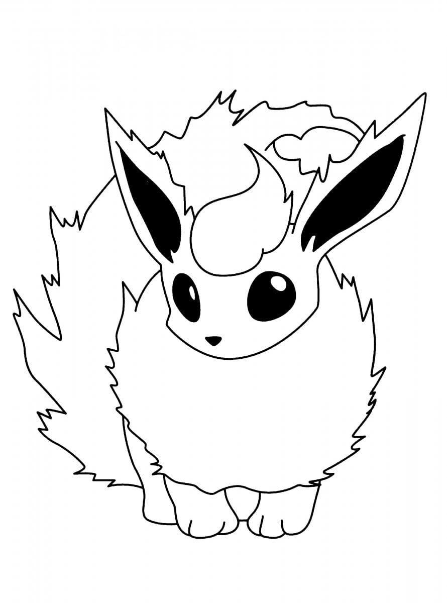 Dibujos Pokemon Para Pintar  Dibujos Para Colorear Pokemon