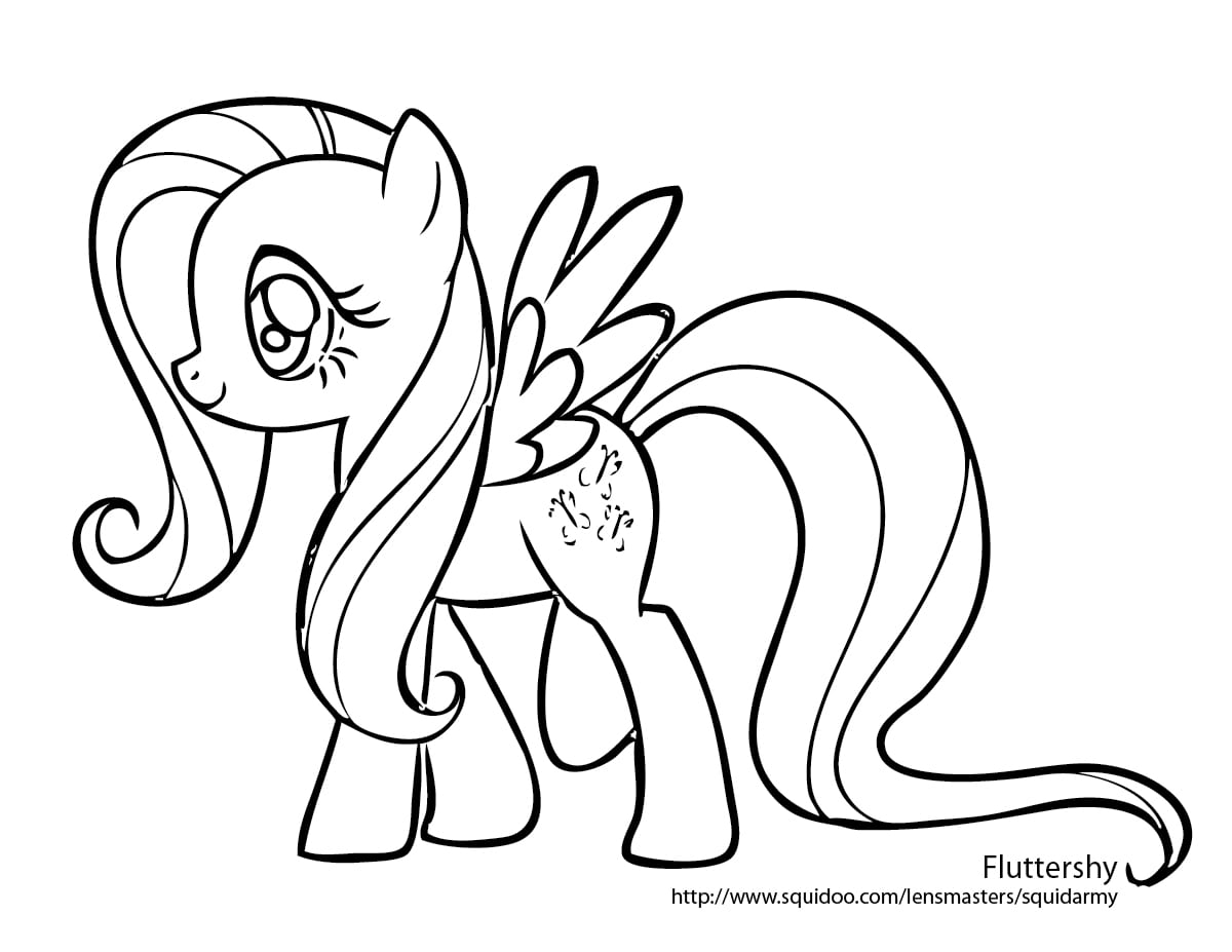 My Little Pony Coloring Pages, Desenhos My Little Pony Para