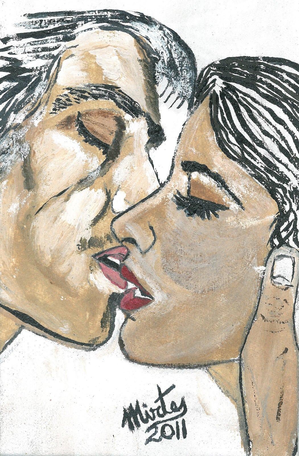 Desenho  Saúde Mental  O Beijo