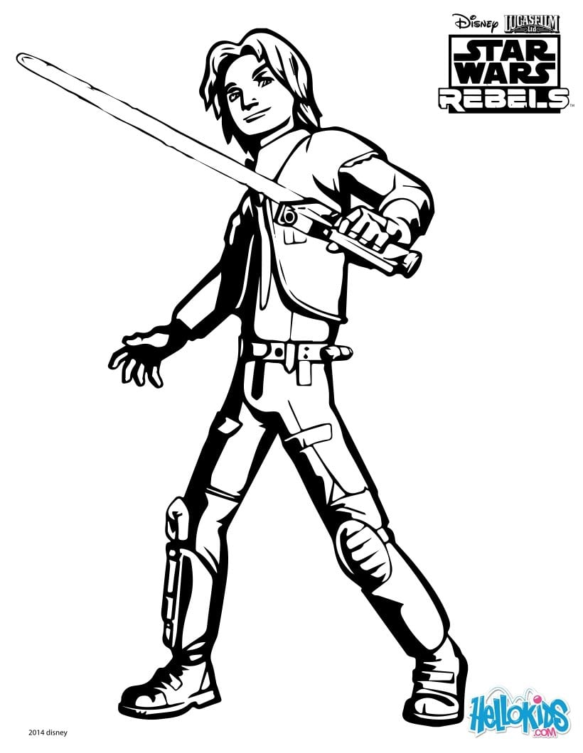 Star Wars   Desenhos Para Colorir, Jogos Gratuitos Para Crianças