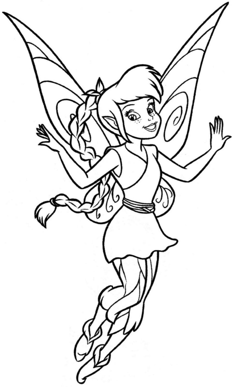 Desenhos Para Imprimir Da Tinker Bell