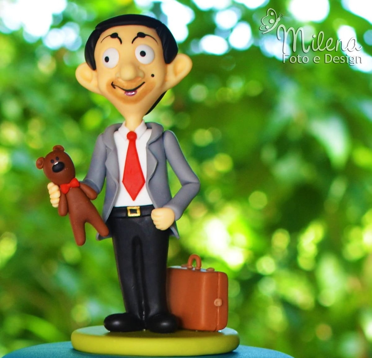 Topo De Bolo Mr Bean Desenho